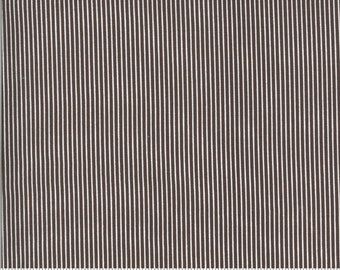 Folktale Skinny Stripes Coco 5125 18 by Lella Boutique for Moda Fabrics