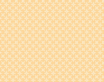 Sweet Beginning yellow ditsy geometric MAS10016-S by Jera Brandvig of Quilting in the Rain for Maywood Studios