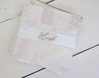 Hush Hush 10 inch stacker by Assorted RBD Designers for Riley Blake Designs, 42--10 inch squares