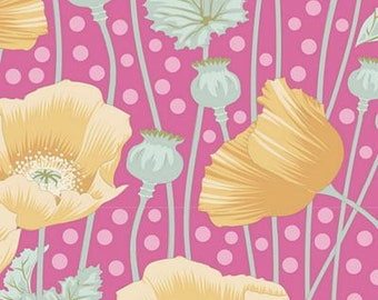 Gardenlife Poppies Pink..a Tilda Collection designed by Tone Finnanger