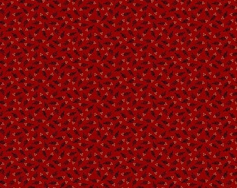 Prairie Dry Goods R1755-RED by Pam Buda for Marcus Fabrics