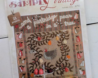 Simply Vintage by Quilt Mania Autumn 2021 issue