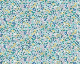 The Deco Dance Collection, Ava May A 04775921A, by Liberty fabrics for Riley Blake Designs, Liberty Quilting Cotton