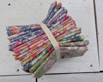 Gardenlife fat quarter bundle...a Tilda Collection designed by Tone Finnanger, 17 fat quarters