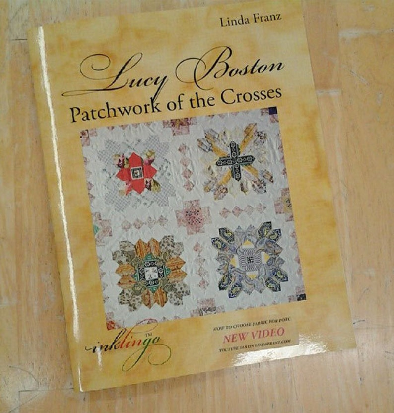 Lucy Boston Patchwork of the Crosses by Linda Franz of image 0