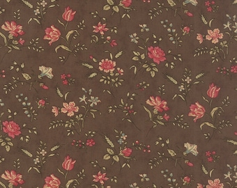 Mille Couleurs Walnut 44082 12 by 3 Sisters for moda fabrics