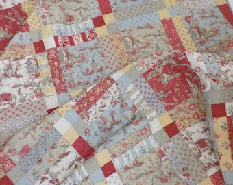 Garden District quilt kit...designed by Mickey Zimmer for Sweetwater Cotton Shoppe featuring Jardin de Fleurs by French General