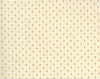 Ladies' Legacy Ivory Red 8359 15 by Barbara Brackman for Moda Fabrics