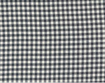 Low Volume Check Charcoal 18201 24 by Jen Kingwell for Moda Fabrics