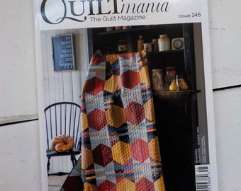 Quiltmania, the Quilt Magazine, Issue 145, September-October 2021