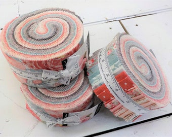 Sanctuary jelly roll by 3 Sisters for Moda Fabrics...40--2 1/2 inch strips, curated collection