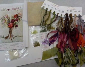 Tree by MJ Hiney...the Ribbon Muse...complete kit with instructions