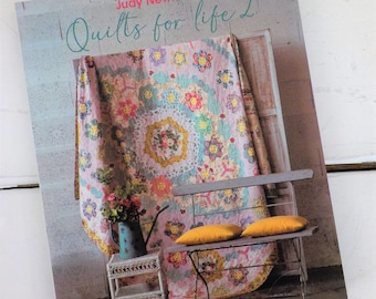 Quilts for Life 2 by Judy Newman for Quiltmania, quilting book, epp book, quilt book