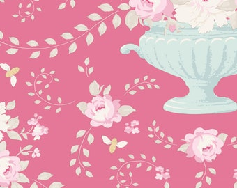 Happy Campers...100235 Flowerbees Rose...a Tilda Collection designed by Tone Finnanger
