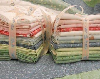 Newborn by Rachelle Anne Miller featuring Gabby Quilts FQ bundle