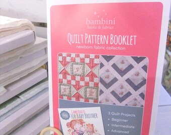 Newborn Pattern Booklet by Bambini Books