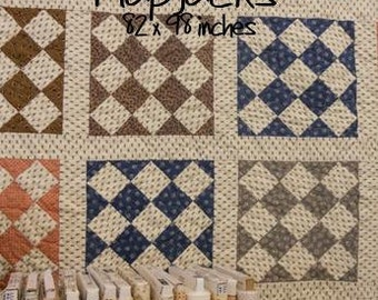 PDF Flapjacks pattern by Mickey Zimmer for Sweetwater Cotton Shoppe