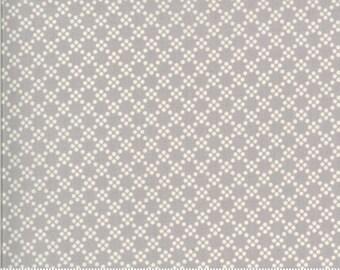 Dover Tonal Dot Grey 18704 13 by Brenda Riddle for Moda Fabrics