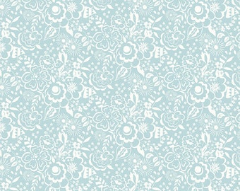 The Deco Dance Collection, Lindy Silhouette B 04775919B, by Liberty fabrics for Riley Blake Designs, Liberty Quilting Cotton