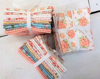 Yoder's Dry Goods by Corey Yoder/Coriander Quilts...13 fat quarter bundle, sugarcreek and apricot and ash