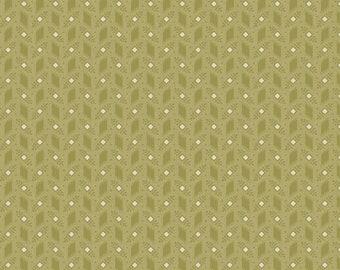 Purple Passion boxleaf by Paula Barnes R2248-LTGREEN for Marcus Fabrics
