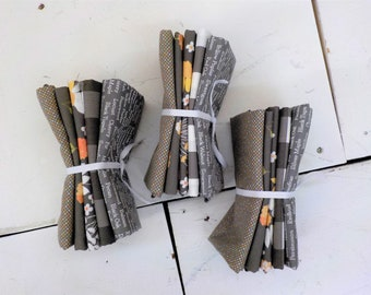 Cozy up cloudy skies 5 fat quarter bundle by Corey Yoder of Coriander Quilts for Moda Fabrics