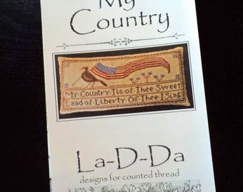 My Country by La-D-Da...cross stitch pattern