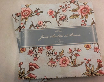 Jane Austen At Home for Riley Blake Designs...classic floral layer cake, 10 inch stacker, 10 inch squares