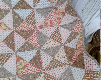 PDF Pumpkin Pie Spice quilt...pattern designed by Mickey Zimmer for Sweetwater Cotton Shoppe