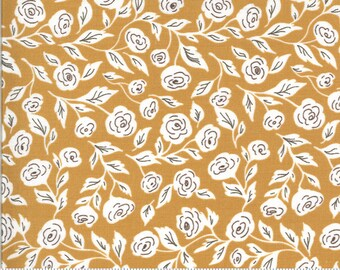 Folktale Enchanted Bloom Golden 5121 16 by Lella Boutique for Moda Fabrics
