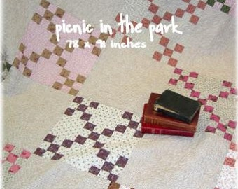 PDF Picnic in the Park pattern by April Zimmer for Sweetwater Cotton Shoppe