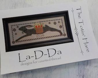 The Totin' Hare by La-D-Da...cross stitch pattern