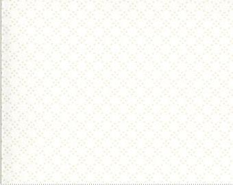 Dover Tonal Dot Linen White 18704 11 by Brenda Riddle for Moda Fabrics