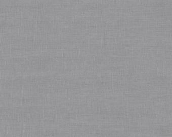 Essex Linen E014-SMOKE designed by Robert Kaufman ...linen/cotton blend