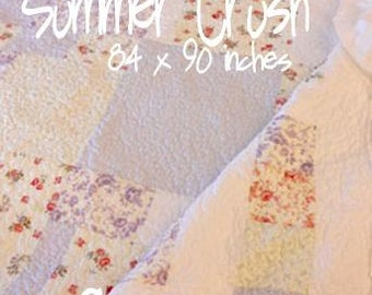PDF Summer Crush pattern designed by Mickey Zimmer for Sweetwater Cotton Shoppe