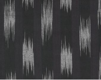 Low Volume Ikat Charcoal 18201 29 by Jen Kingwell for Moda Fabrics
