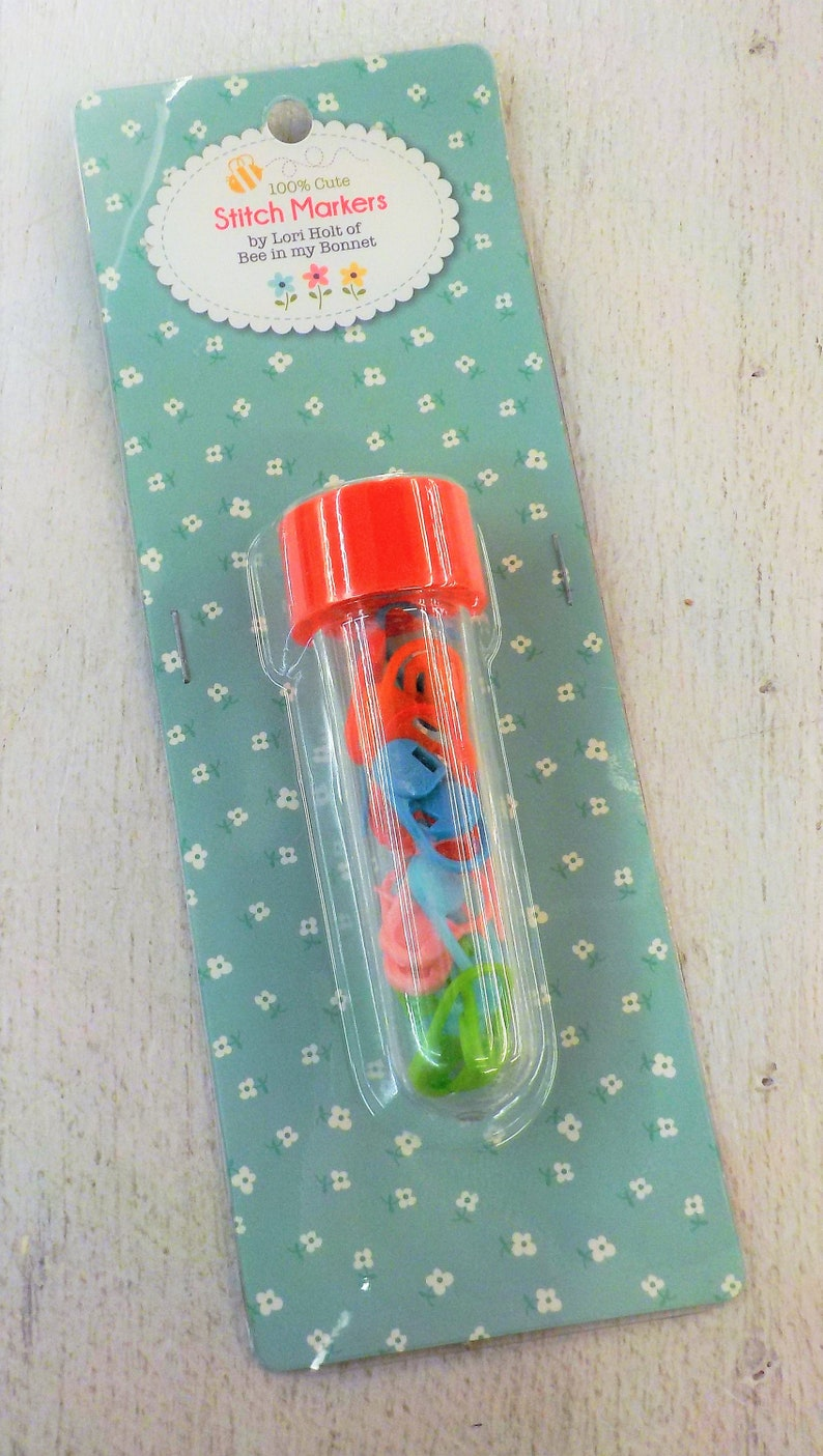 knitting notion Stitch Markers crochet notion 100/% Cute by Lori Holt of Bee in My Bonnet