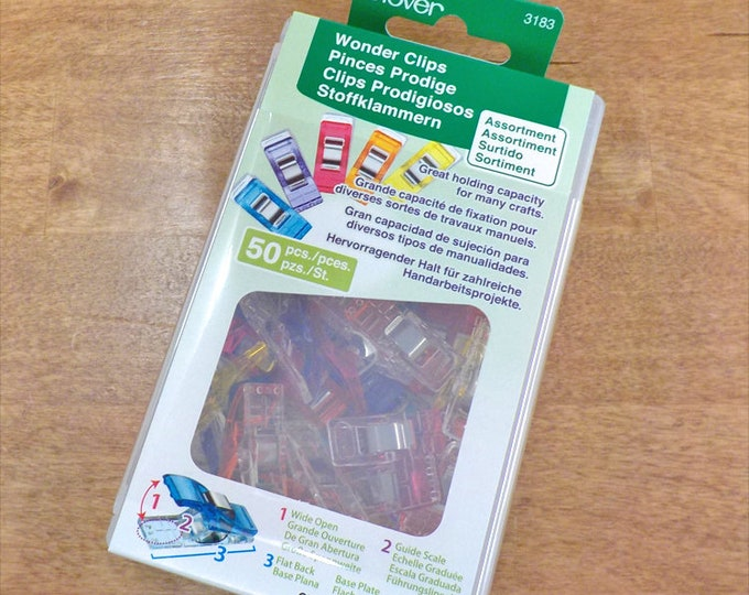 Clover Wonder Clips...50 count...