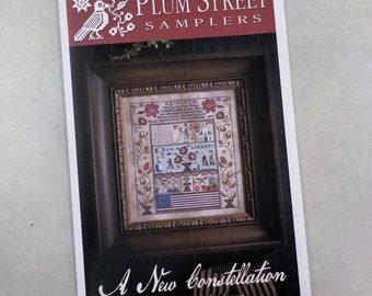 A New Constellation by Plum Street Samplers...cross stitch pattern, cross stitch