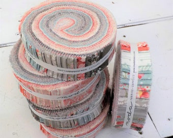 Sanctuary honey bun by 3 Sisters for Moda Fabrics...40--1 1/2 inch strips, curated collection