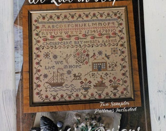 We Live in Hope by Blackbird Designs, cross stitch booklet