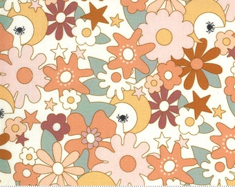 Kitty Corn Ghost 31172 11 by Urban Chiks for Moda Fabrics, halloween, autumn