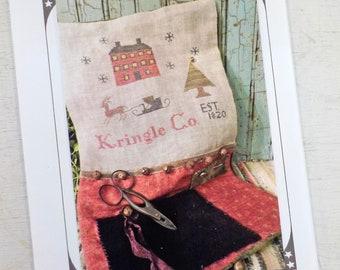 Kringle Company - 1820 by The Pinkeep...cross stitch pattern