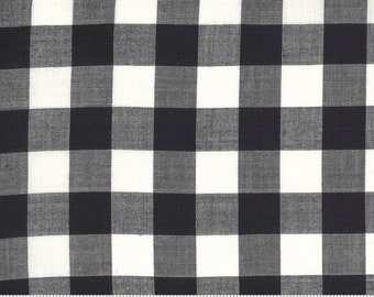Low Volume Check Charcoal 18201 23 by Jen Kingwell for Moda Fabrics