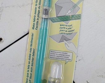 Clover Fabric Folding Pen...applique, origami quilting, creasing hems and cuffs