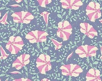 Gardenlife Striped Petunia Blue..a Tilda Collection designed by Tone Finnanger