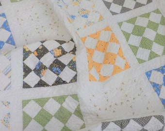 Flapjacks quilt kit featuring Spring Brook by Corey Yoder...pattern designed by Mickey Zimmer for Sweetwater Cotton Shoppe