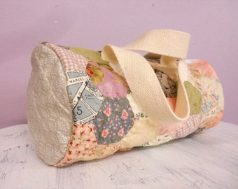 PDF Mini Shabby Duffle pattern by Mickey Zimmer for Sweetwater Cotton Shoppe