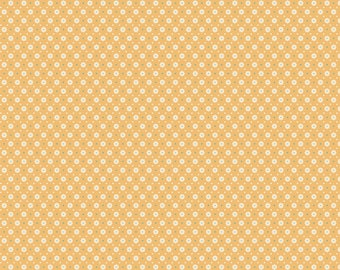 Chick-A-Doodle Doo yellow florets CD21719 by Poppie Cotton