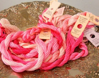 Cotton Candy Thread Pack of 10 skeins of Edmar Thread.